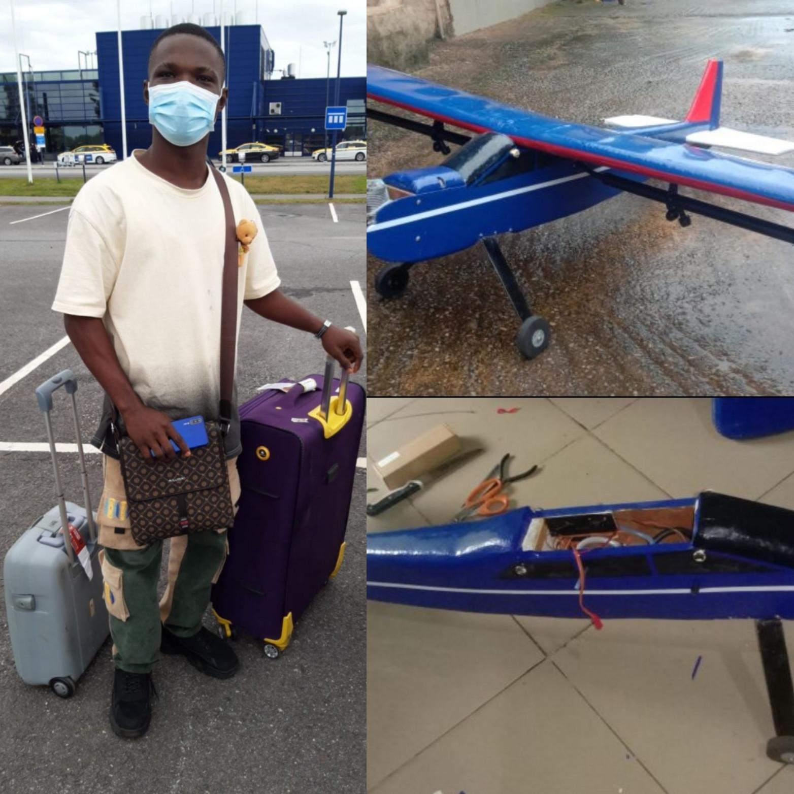 Finland based company ,Radai Ltd hires Ignatius Asabor ,Nigerian man who makes drones.