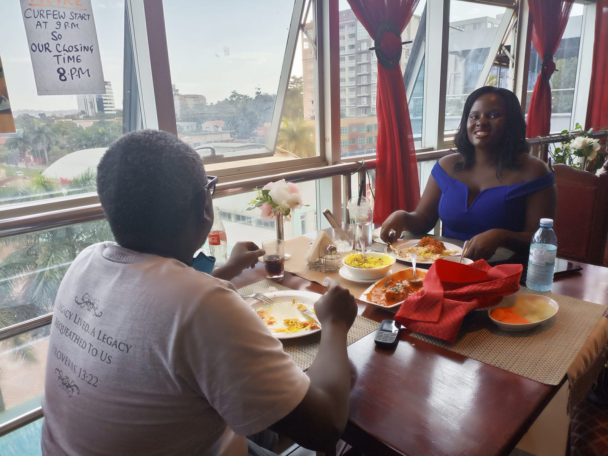 Former Ugandan couple celebrate their divorce after six years of separation (photos)