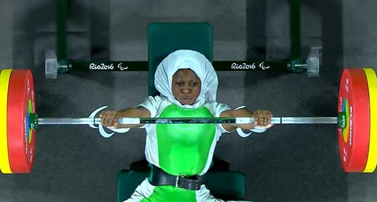 Nigeria wins first gold at Tokyo Paralympics as Latifat Tijani defeats China?s Zhe Cui in powerlifting (photos)