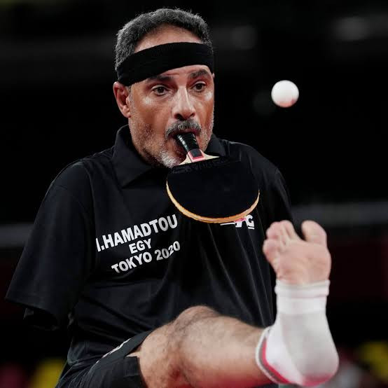 Tokyo 2020 Paralympics: Egypt?s Ibrahim Hamadtou who lost arms aged 10 plays table tennis with bat in mouth and serves with his leg (Photos/Video)