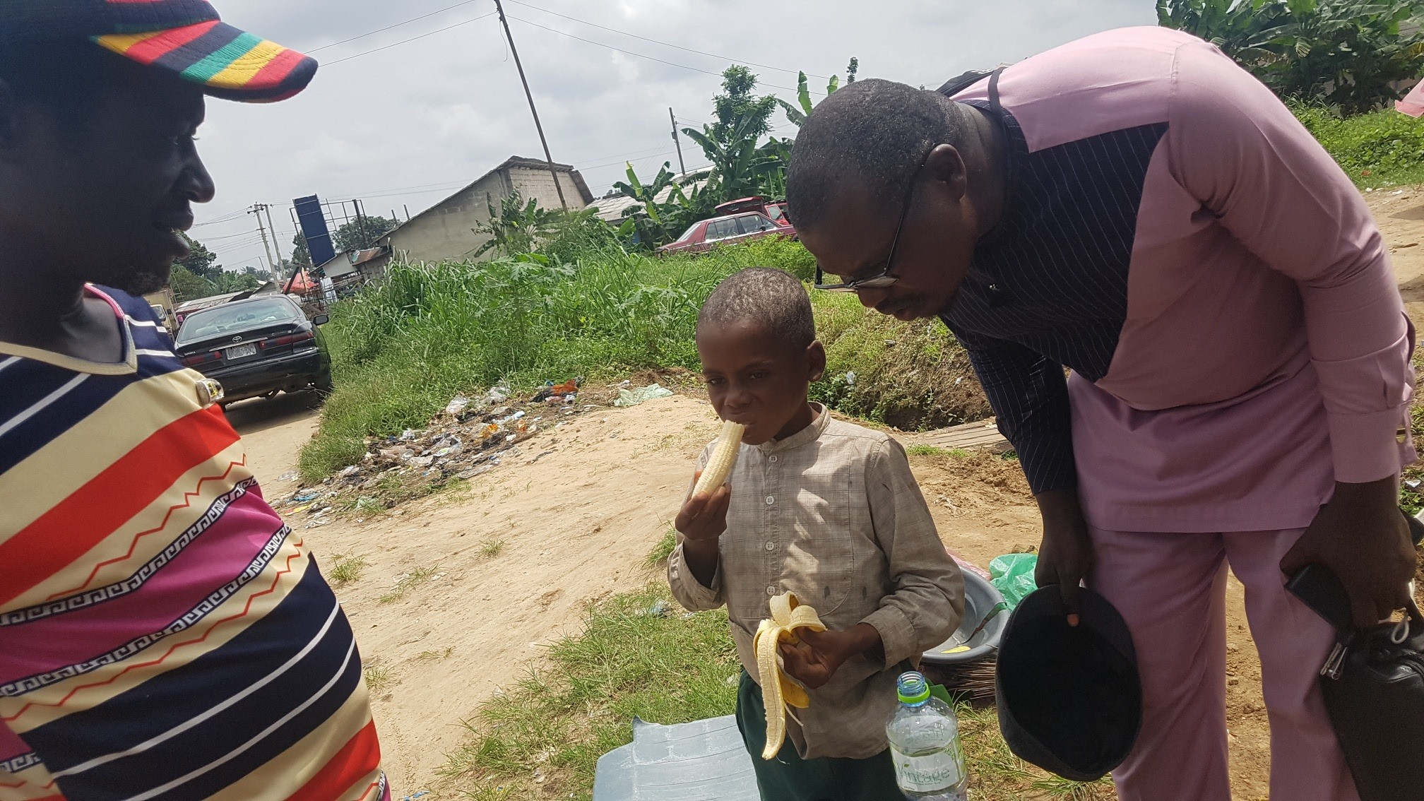 8-year-old boy allegedly kicked out by his stepmother in Akwa Ibom escapes from suspected human trafficker while roaming the streets