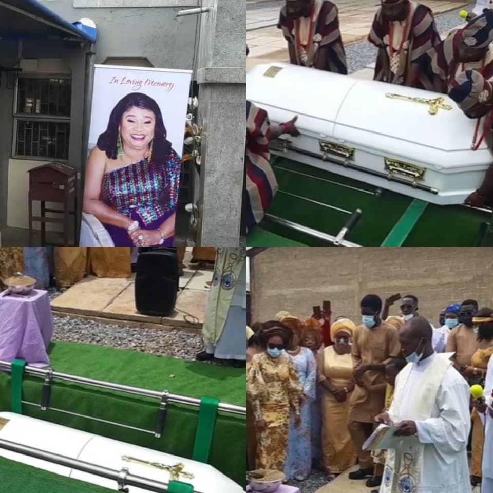 Update: Veteran actress, Rachel Oniga, laid to rest