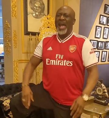 Hilarious! Dino Melaye fires hot prayers against Arsenal coach, Mike Arteta (video)