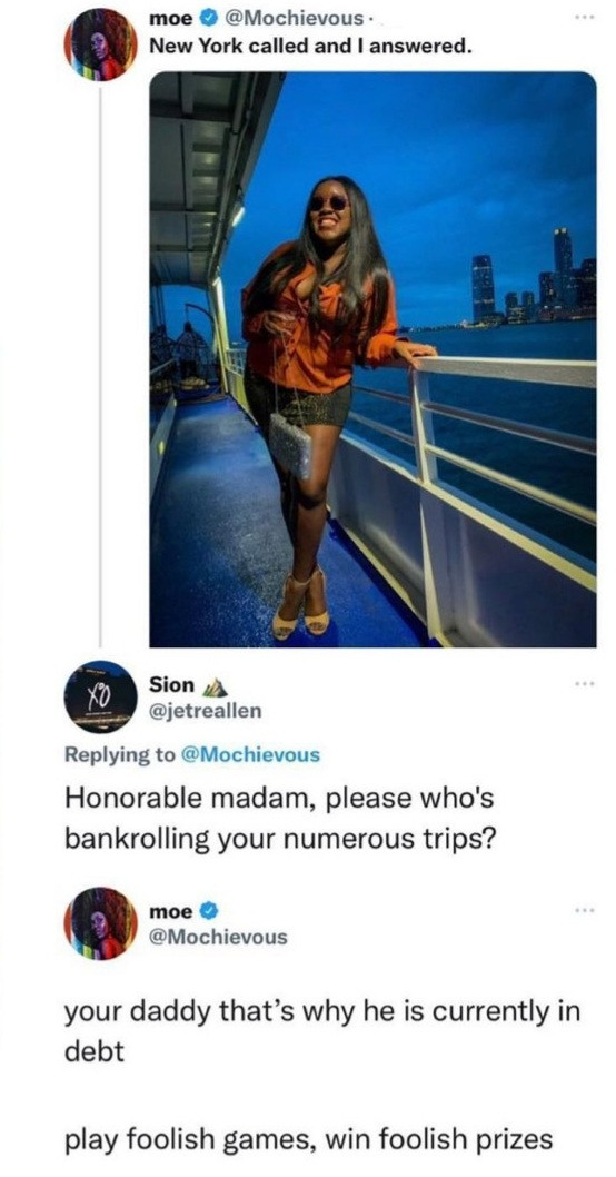 Lawyer Modupe Odele slams troll who asked who is bankrolling her trips abroad