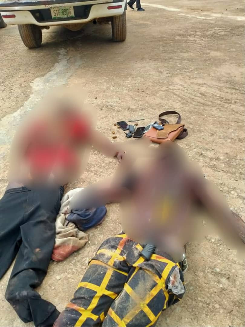 Two suspected kidnappers/armed robbers killed during gun battle with police in Ogun (photo)
