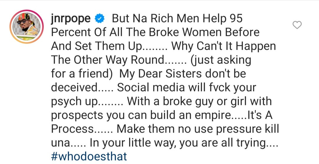Actor Junior Pope Odonwodo responds after his colleague Onyi Alex said it