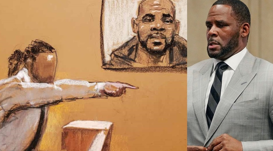 He crawled down on his knees and gave me oral sex - ?R. Kelly