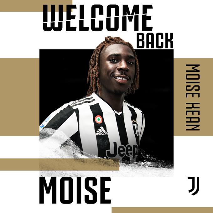 Juventus sign Moise Kean from Everton