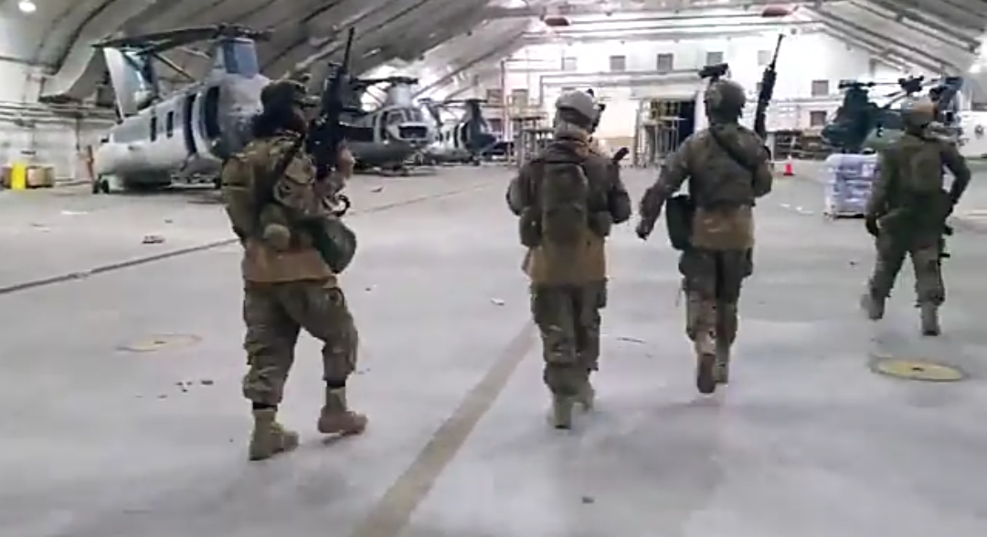 Watch what Taliban did moments after last US plane departed from Afghanistan