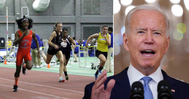 President Biden sued by 20 US states for allowing biological males in girls