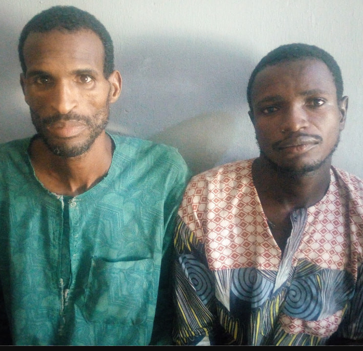 Police arrest two suspected kidnappers who killed man while attempting to abduct his son in Adamawa