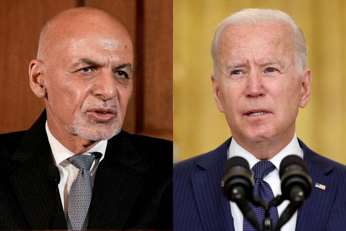 Shocking transcript reveals Biden pressured Afghan President Ghani to create