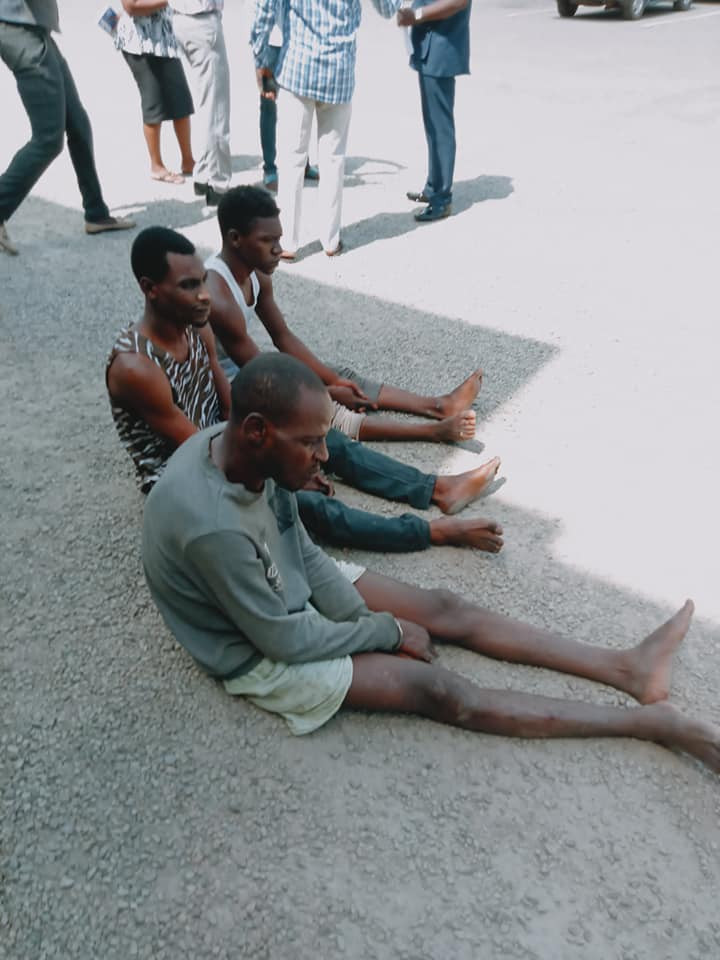 NSCDC arrests three out of four suspects who allegedly abducted and gangraped 19-year-old girl for 21 days in Nasarawa