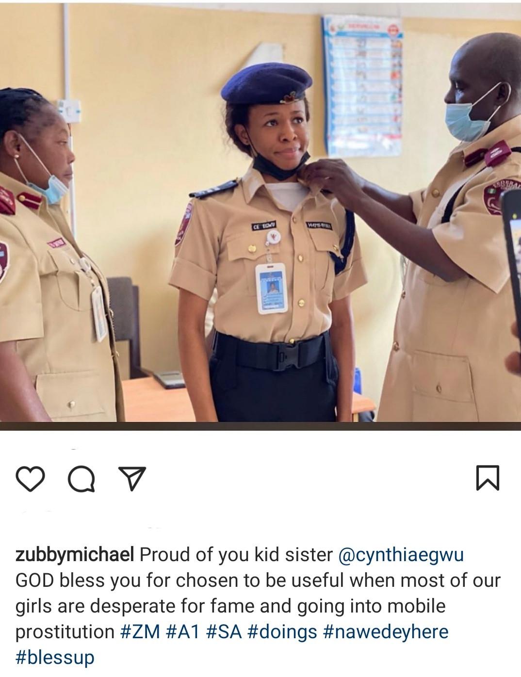 Zubby Michael congratulates his