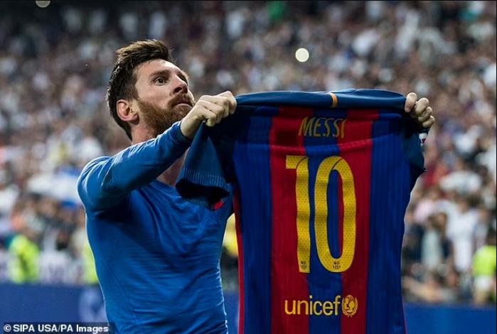 Ansu Fati is chosen as Lionel Messi