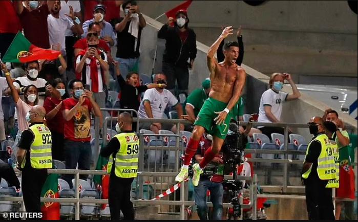 Cristiano Ronaldo breaks Ali Daei