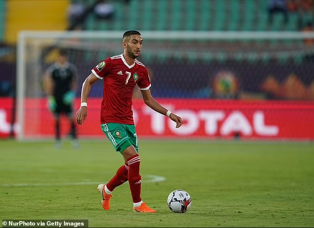 Chelsea star Hakim Ziyech axed from Morocco