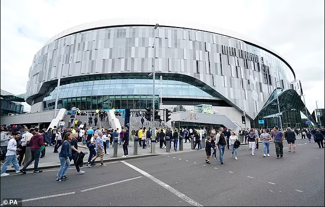 Tottenham evacuate 300 people after fire breaks out at their ?1bn stadium