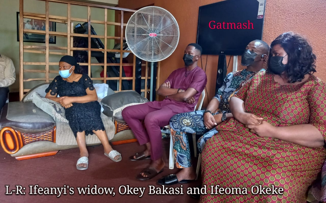 Actors Guild of Nigeria pays condolence visit to Ifeanyi Dike