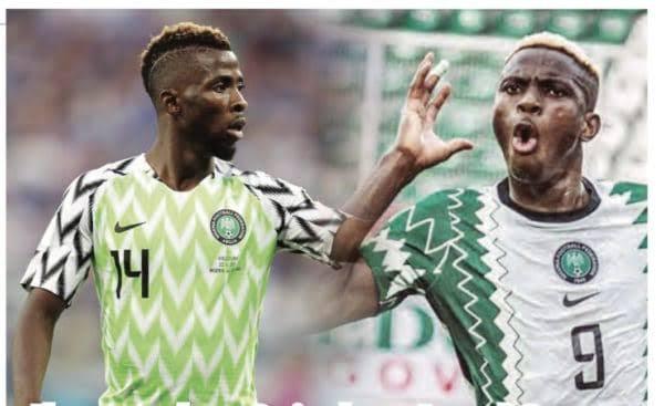 2022 World Cup qualifiers: Osimhen, Iheanacho prepare to lead Super Eagles attack in match against Liberia