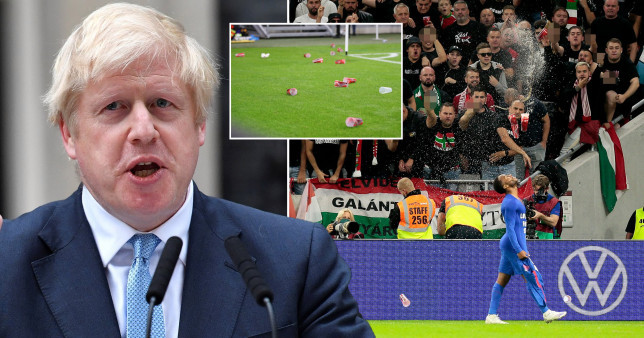 UK Prime Minister, Boris Johnson condemns racist abuse aimed at Raheem Sterling and Jude Bellingham during Hungary vs England match