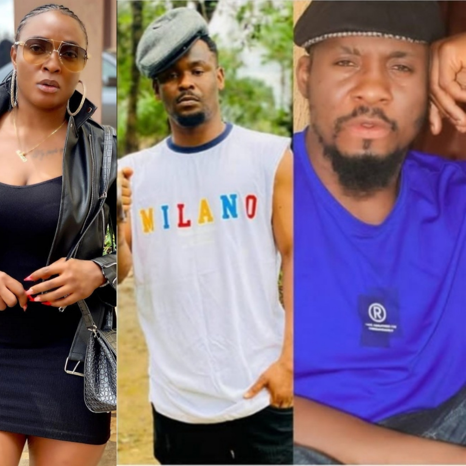 Blessing Okoro reacts to Junior Pope and Zubby Michael