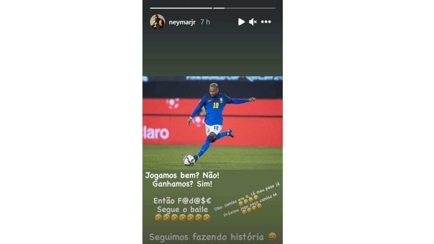 Footballer, Neymar laughs off claims he