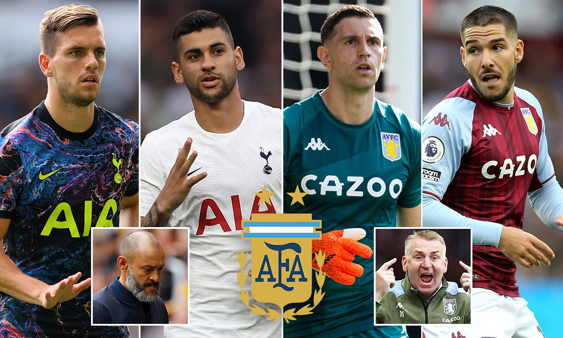 Premier League stars, Giovani Lo Celso, Cristian Romero, Emiliano Martinez and Emi Buendia under investigation by Brazilian authorities for lying on Covid documents