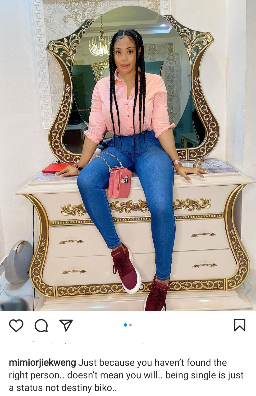 """""""Being single is just a status"""" Mimi Orjiekwe writes as she explains that not everyone will find love"""