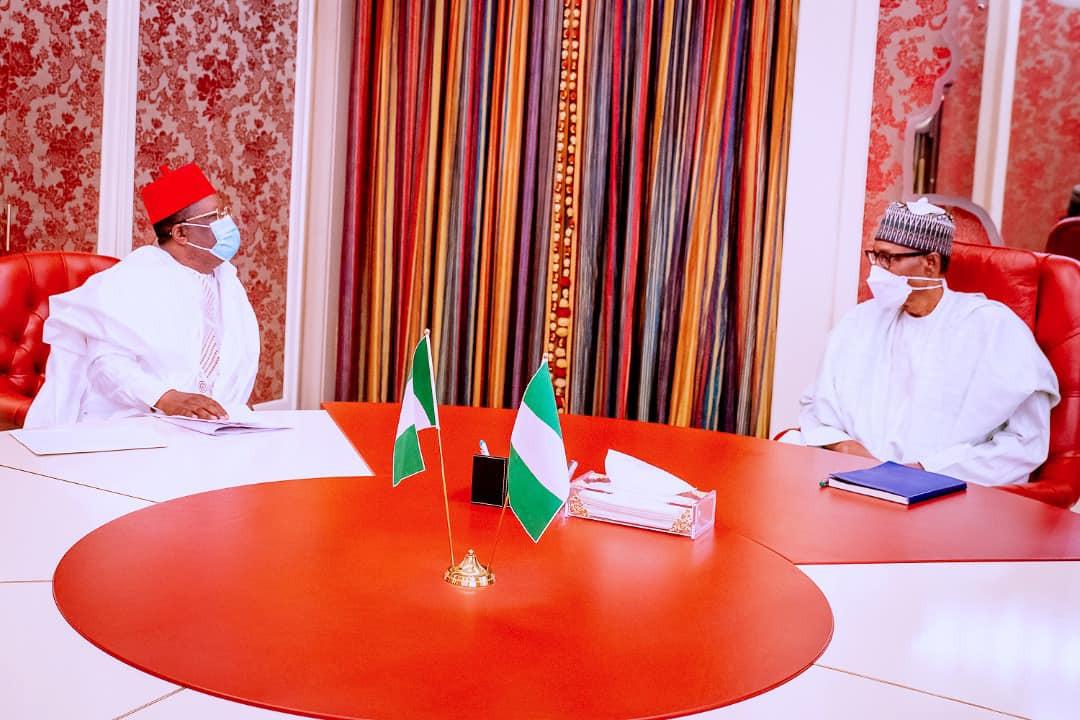 God will give us the next president who has a good heart like Buhari - Says Governor Umahi