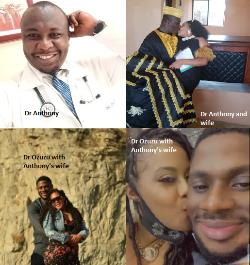 Medical doctor accuses his colleague and friend of snatching his wife (photos)