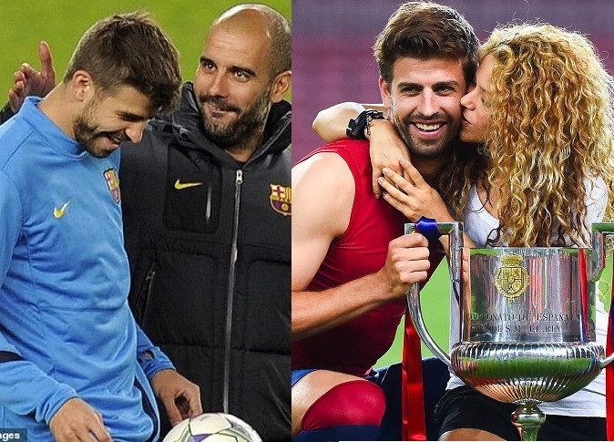 Gerard Pique reveals his relationship with Pep Guardiola changed when he started dating Shakira?