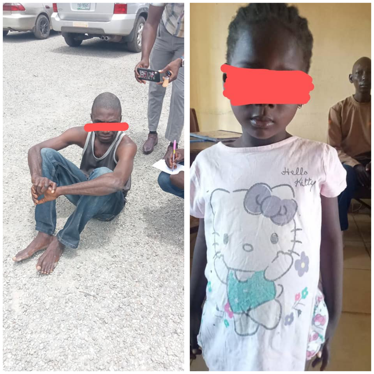 NSCDC arrests man for allegedly defiling 4-year-old girl in Nasarawa