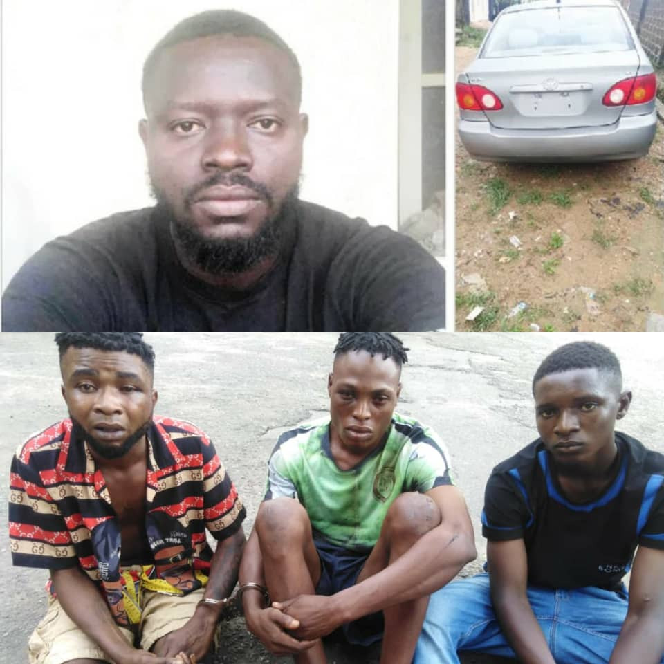 Passengers strangle doctor-turned Uber driver and steal his car in Lagos (photos)