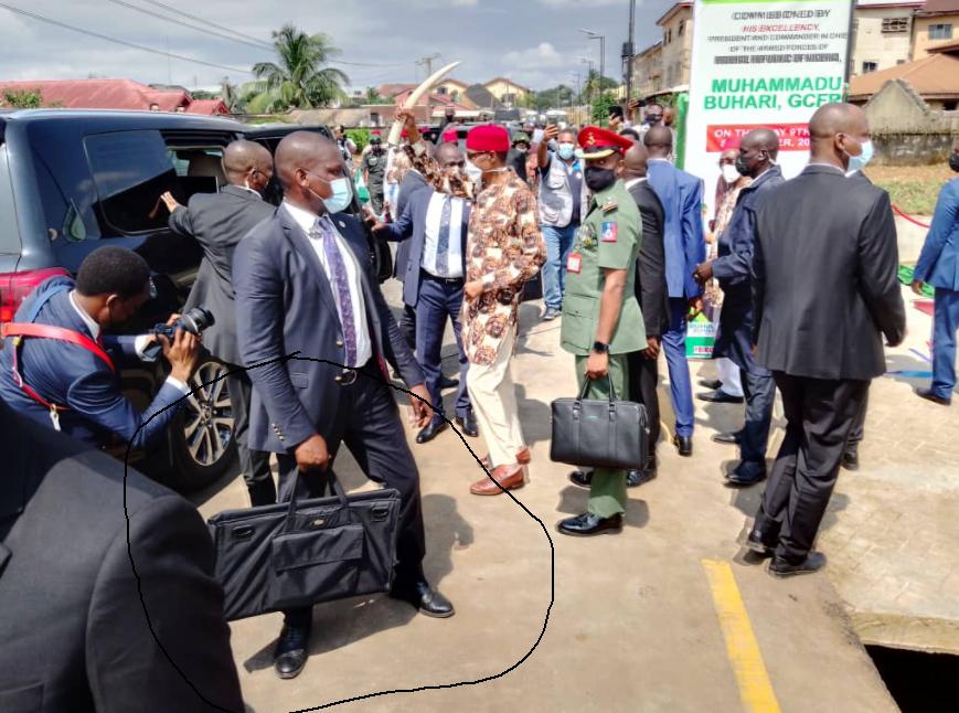 The bags President Buhari