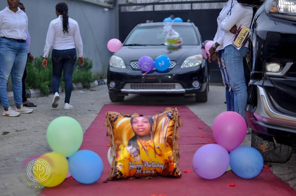 Nigerian Pastor gifts wife a car on her birthday as he recounts how his former fiancee called off their wedding 6 days to the D-day