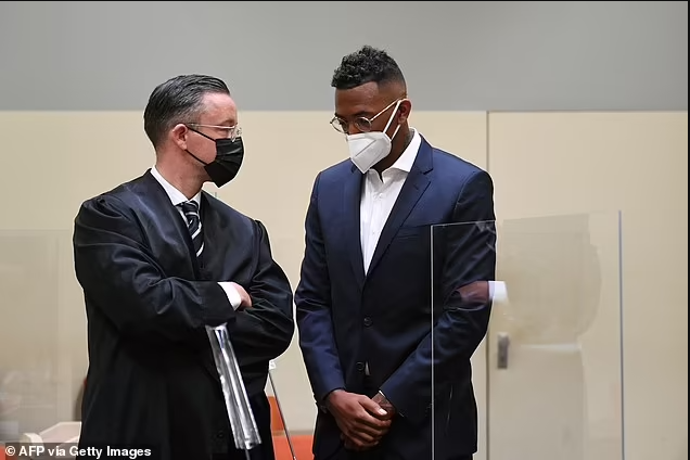 Footballer Jerome Boateng is fined ?1.5m after being convicted of biting and punching the mother of his twin daughters