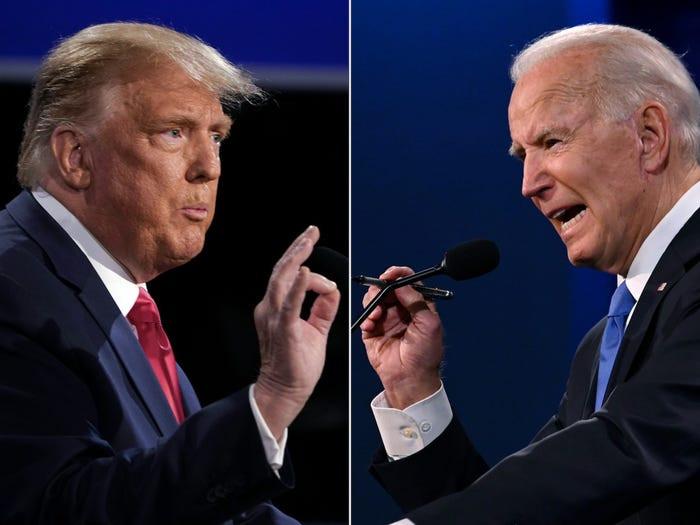 Donald Trump says he?d beat Joe Biden in a boxing match