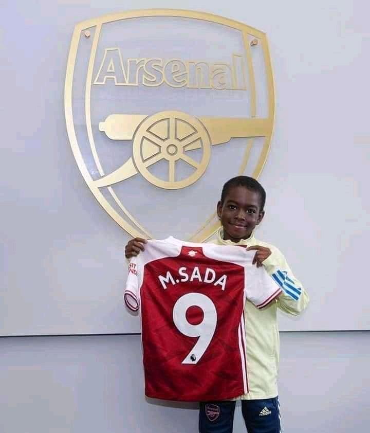 Arsenal sign 9-Year-old Nigerian boy from Kaduna?(photos)