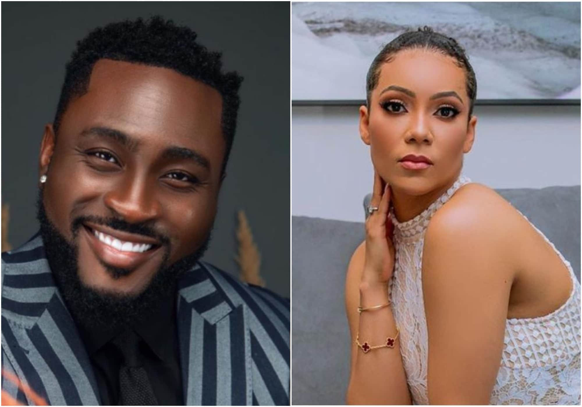 #BBNaija: That thing was just talk o, it did not happen - Pere takes back claim of fing*ring Maria (video)