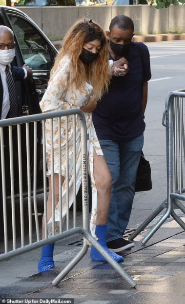 Wendy Williams spotted returning home from hospital after posting about her ?ongoing health issues?