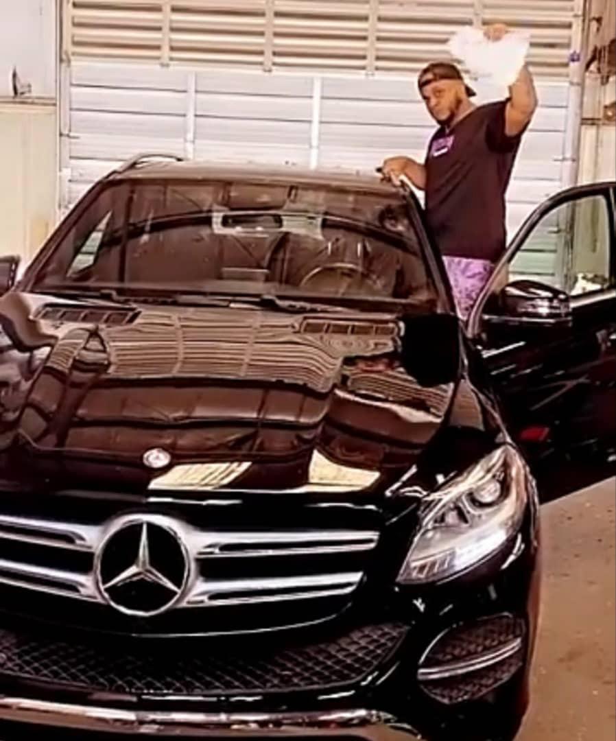 Rapper Sina Rambo acquires Mercedes Benz