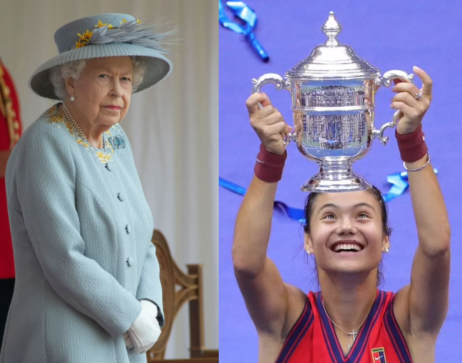 Queen 'to reward 18-year-old Emma Raducanu with OBE after stunning US Open win