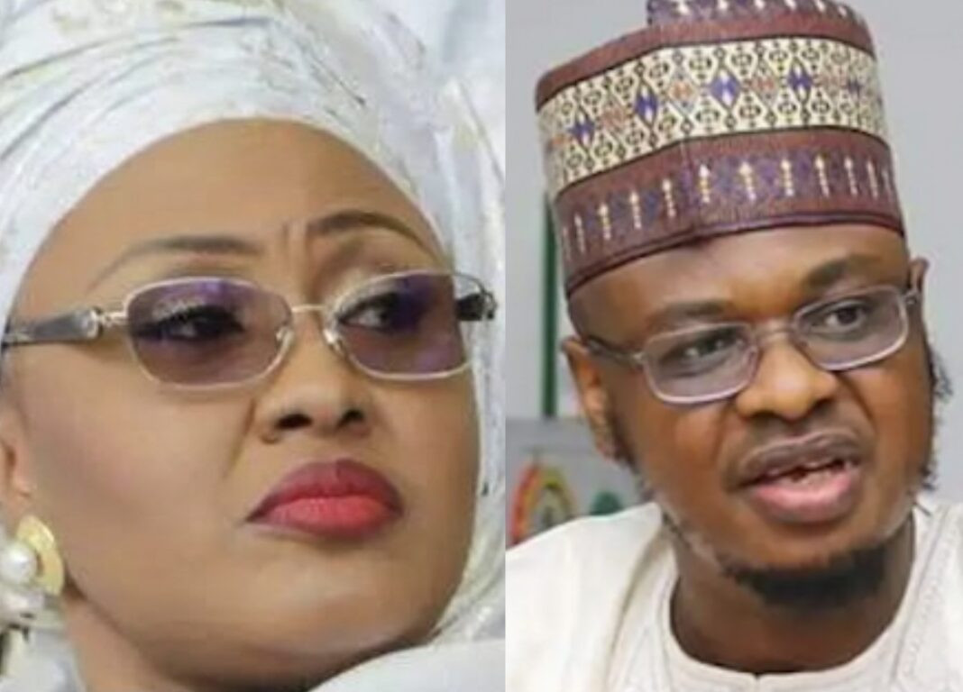 Be courageous to do the right thing - Aisha Buhari sends