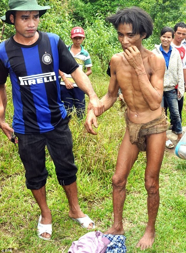 Real-life Tarzan who lived in jungle for 40 years dies of cancer just 8 years after being brought into civilised world