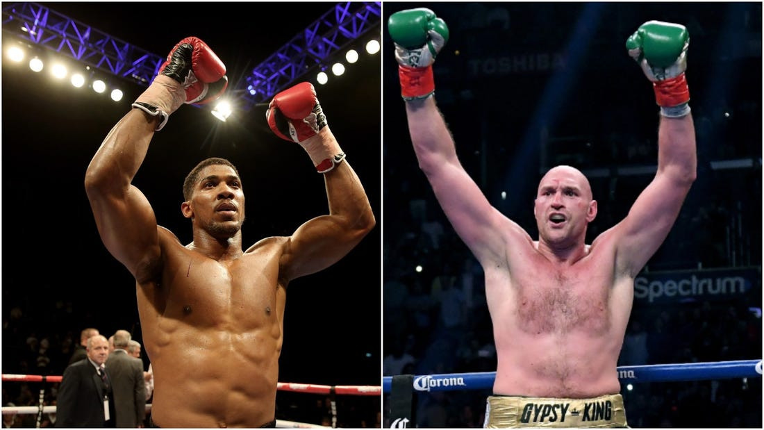 I need to fight Tyson Fury, we need it for boxing