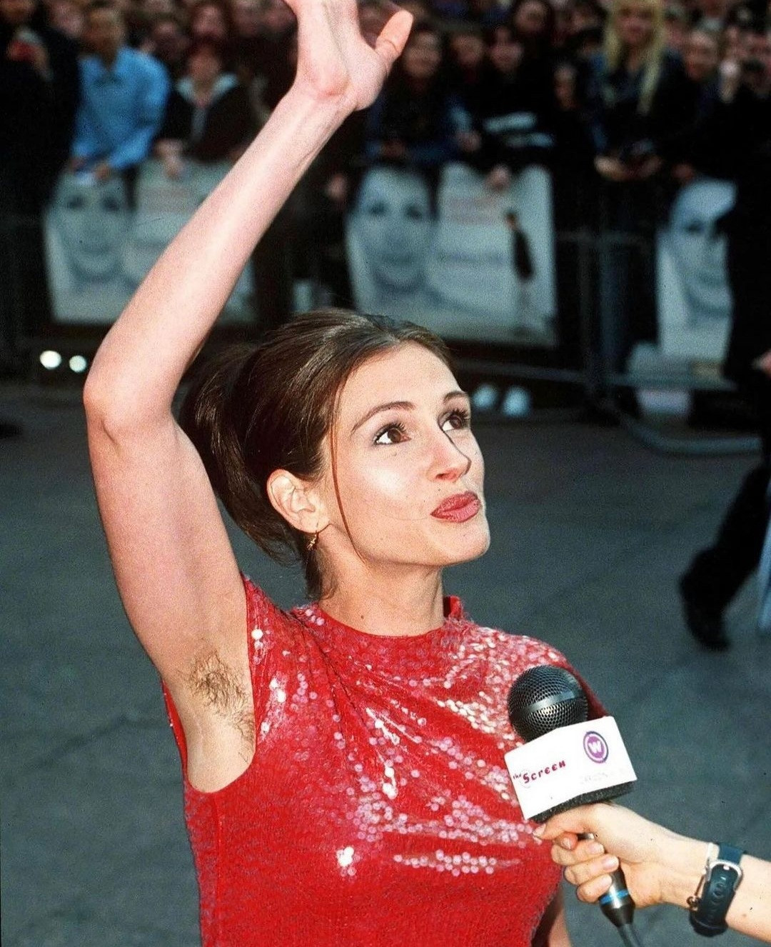 Female celebrities who have displayed armpit hair at public functions (photos)