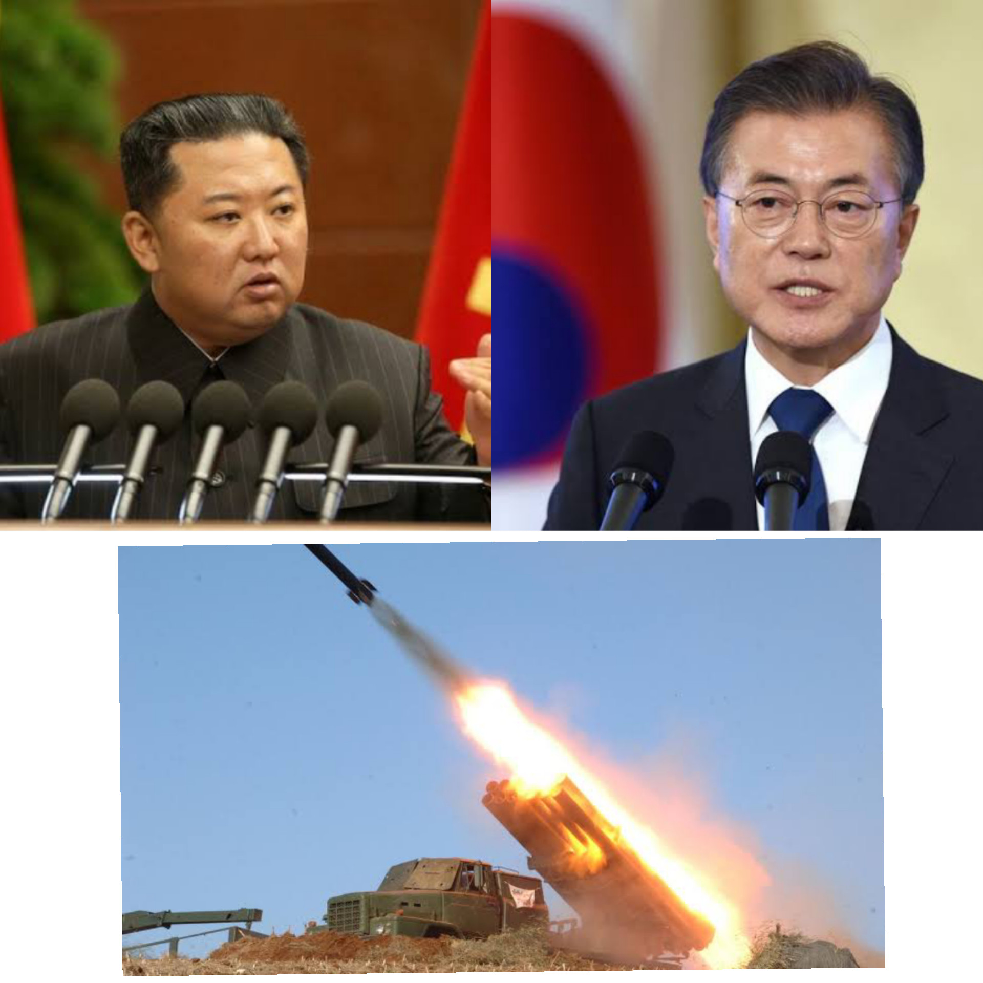 North Korea fires missiles, South Korea responds hours later with new submarine launched missiles