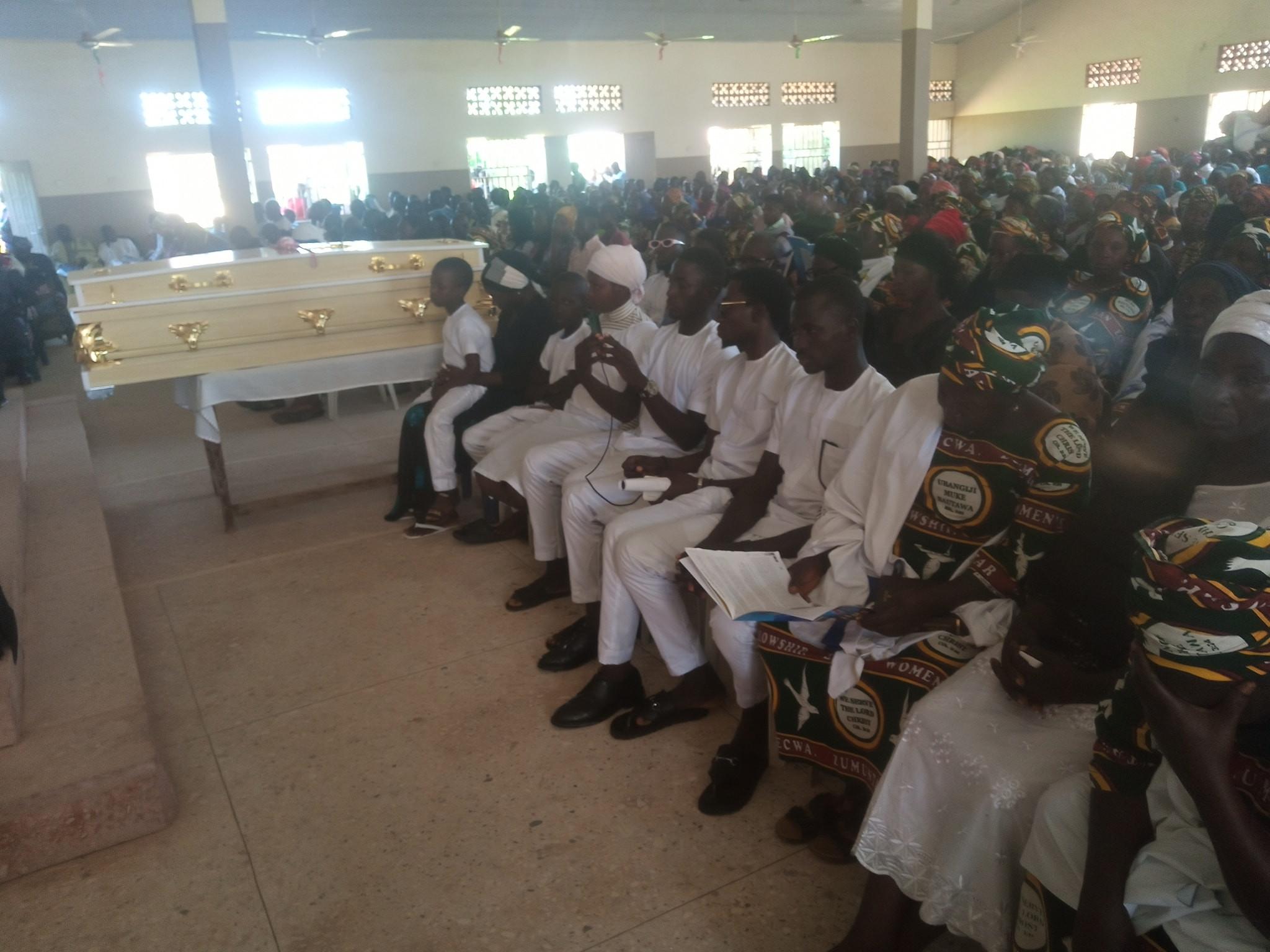 Update: Slain ECWA pastor laid to rest in Kaduna