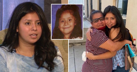 Woman abducted by biological father when she was 6 reunites with her mother 14 years later